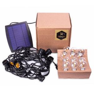 Solar Lichtsnoer met lichtsensor voor binnen en buiten (10 meter)